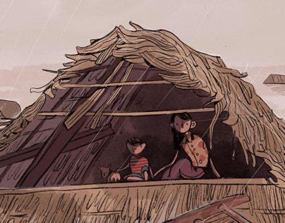 Flood in Central Vietnam
