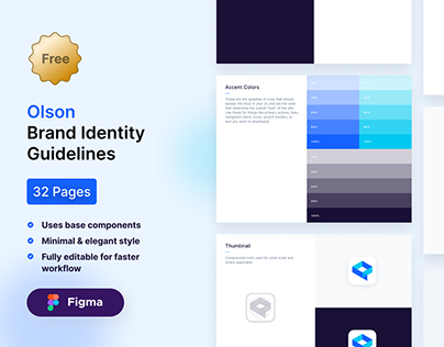 Olson Brand Guidelines Free