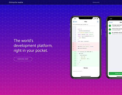 Feature: Github for mobile