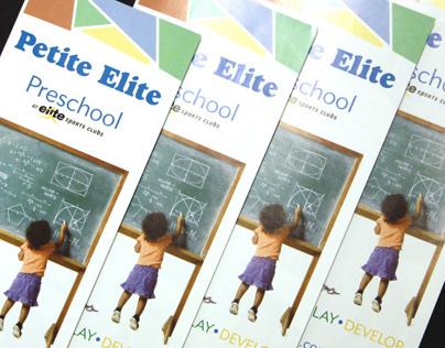 Preschool Brochure 2013