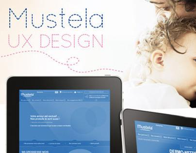 MUSTELA WEBSITE - UX DESIGN
