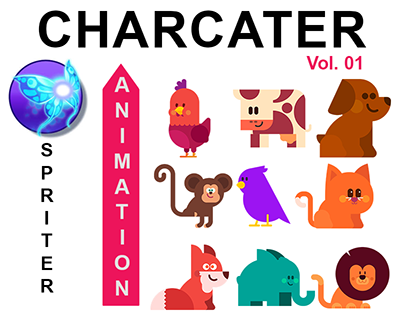 Spriter Character Animation vol.1