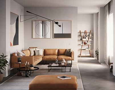 Contemporary Living Room Concept