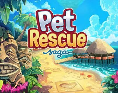 Pet Rescue Saga - Background Art