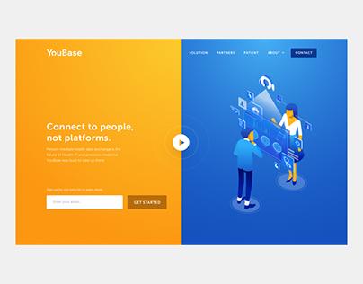 YouBase Landing Page