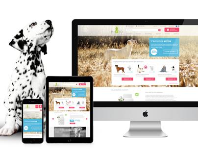 Phyto Compagnon Ecommerce Web design