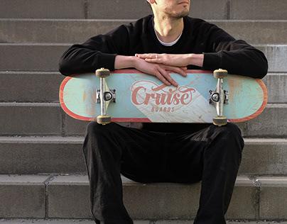 Cruise Boards Skateboard Graphic