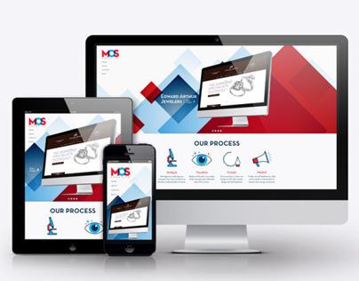MOS Creative Rebrand & Responsive Website