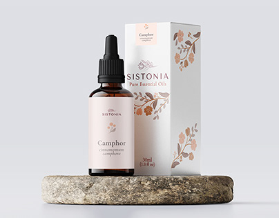 Sistonia Essential Oil Packaging Design