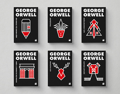 George Orwell - Book Cover Series