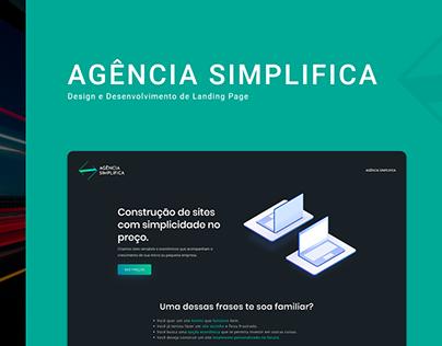 Agência Simplifica - Landing Page