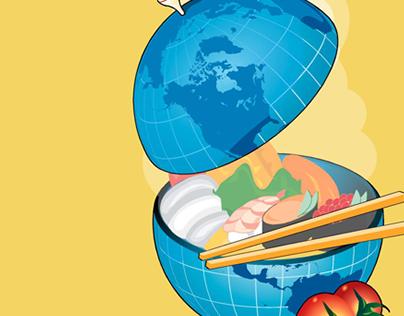 Global Feast illustration