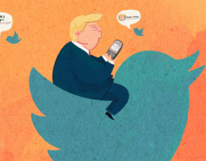 How Trump helped twitter