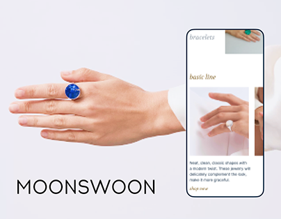 Mooswoon e-shop redesign concept