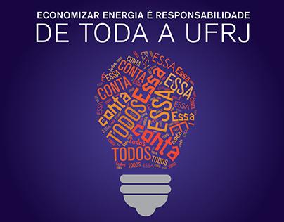Campanha para Economia de Energia na UFRJ