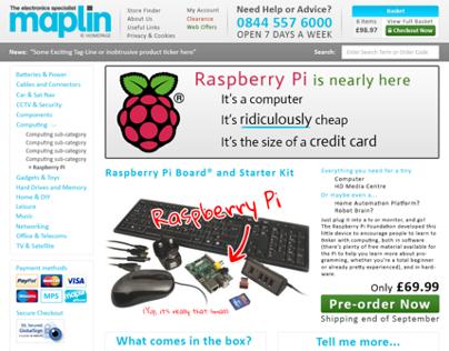 Maplin re-design concept