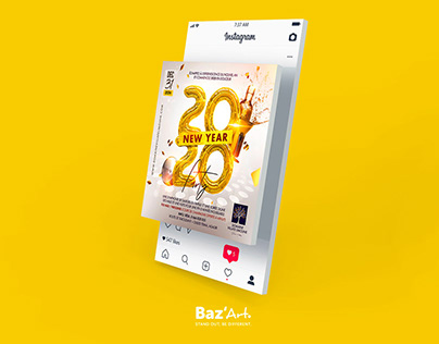 New year Party - Flyer