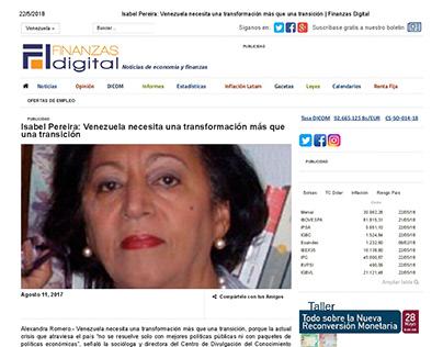 FINANZAS DIGITAL - NOTA DE PRENSA DE ECONOMÍA