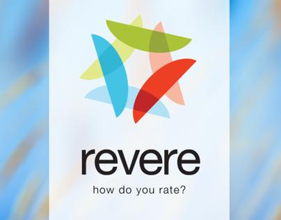 revere consumer app (sketch comps)
