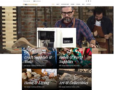 WS Handmade – Responsive Handicraft WordPress theme