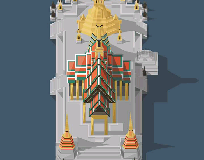 Temple of the Emerrald Buddha