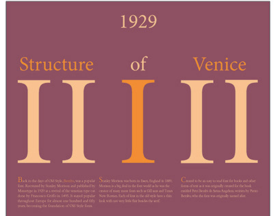 Structure of Venice