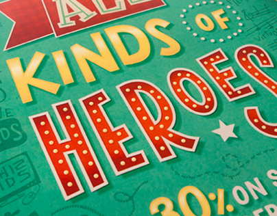 All Kinds of Heroes Campaign Identity