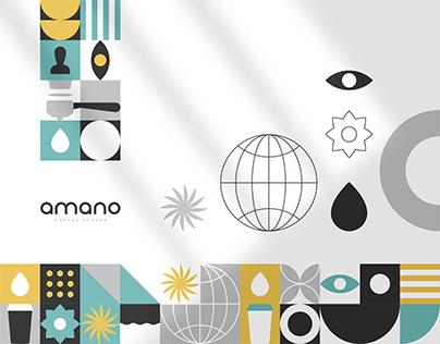 AMANO Coffee Stores - Branding