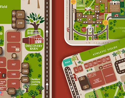 WCS CAMPUS MAPS