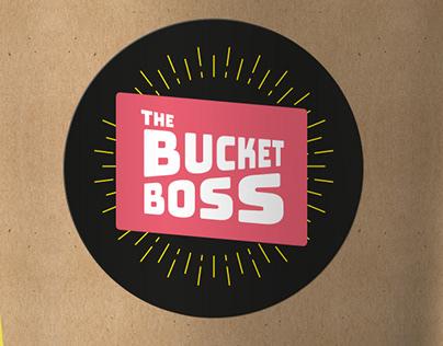 The Bucket Boss brand development: design concepts