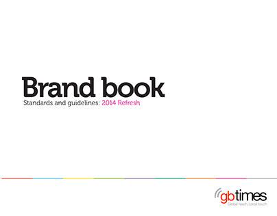GBTIMES Brand Book Project 2014