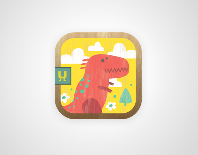 Mini-U: Dinosaurs. Pairs matching game