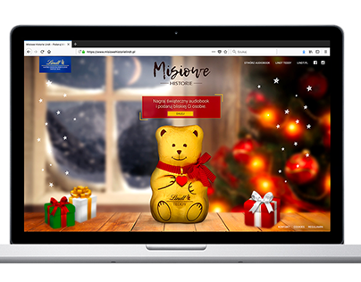 Lindt Teddy - campaign 360, digital, retail, story