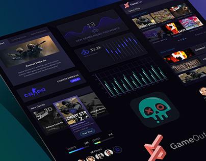 GameOut iOS App Concept