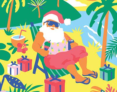 Havaianas Tropical Christmas