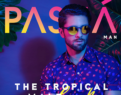 The tropical male look