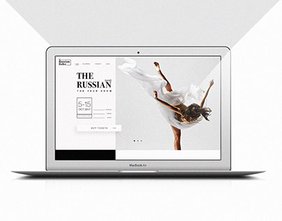 THE RUSSIAN BALLET / Identity & Web design