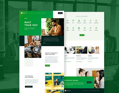 Landing Page Design - Ui Web Design - Amalia Goyanes