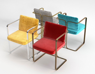 The Future Perfect S2 Murena Armchair- 3d model