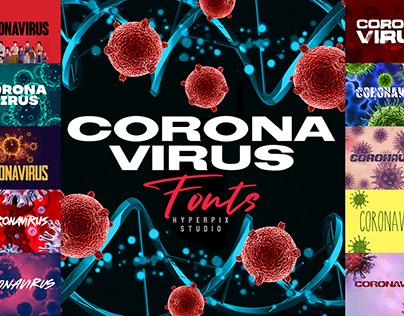 Coronavirus Fonts Collection