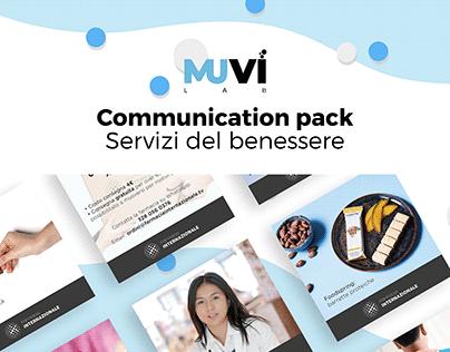 Communication pack Servizi del Benessere