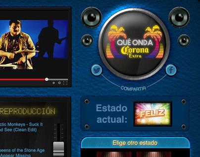 Tab en Facebook para Cerveza Corona Colombia