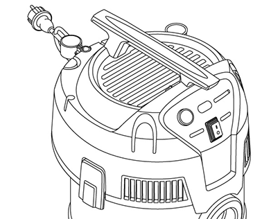 Cleaning Equipment Technical Illustrations