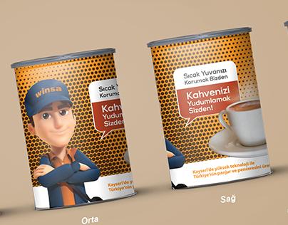 ÖzerPan Kutu Kahve Tasarımı