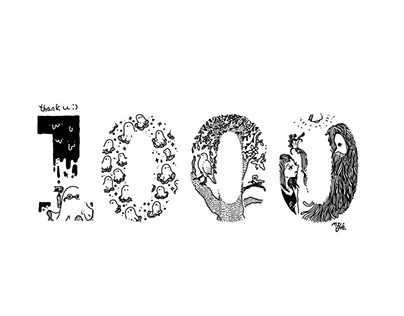 1000post on instagram