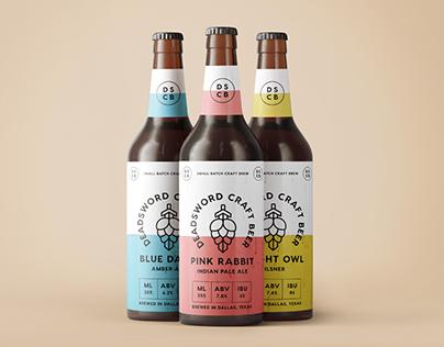 DeadSword Craft Beer Brand Identity