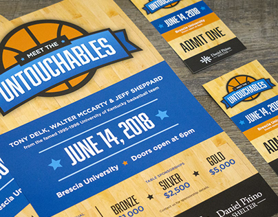 Meet the Untouchables Event Materials