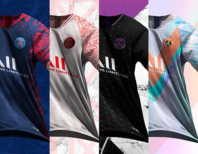 Paris Saint-Germain 21/22 Concept Kits