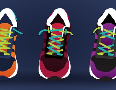 Shoe Lacing Techniques | Illustration