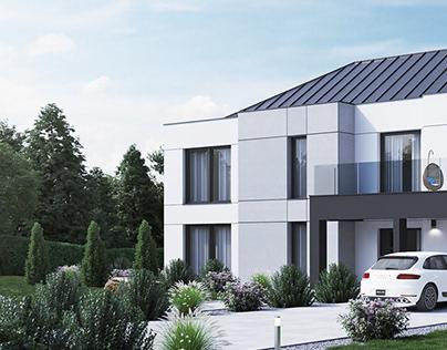 House near Poznań